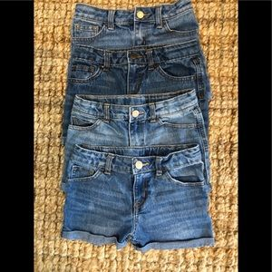 Denim shorts in like new condition.